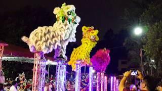 CNY 2015 - Khuan Loke three lion on jongs