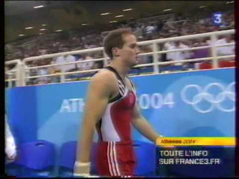 Paul HAMM (USA) vault - 2004 Olympics Athens TF