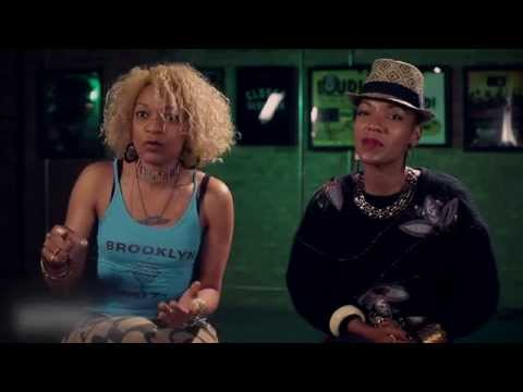 Les Nubians - Studio session with Pharrell Williams And Guru (247HH Exclusive)