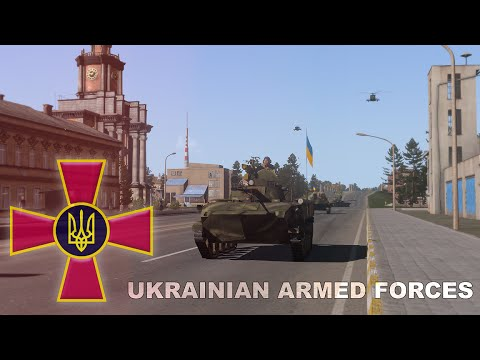 Ukrainian Armed Forces addon preview