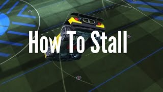 Rocket League Tutorial | How To Stall!