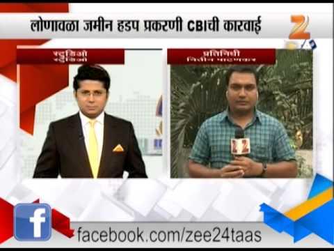 Pune : Cbi Raid IRB Company Offices