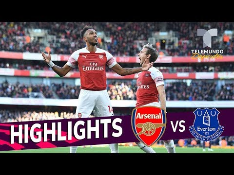 Arsenal vs. Everton: 2-0 Goals & Highlights | Premier League | Telemundo Deportes