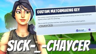 CUSTOM MATCHMAKING with SEASON ONE player | VBUCK GIVEAWAYS | Fortnite