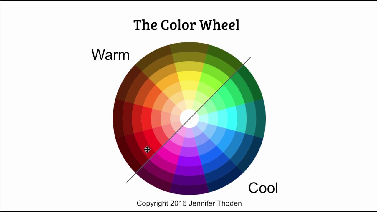 Color Theory Warm Blue Vs Cool Blue Your Color Style