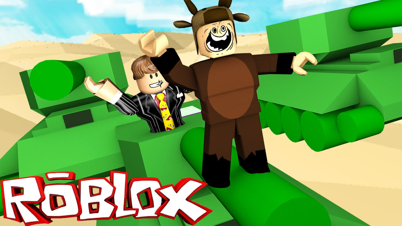 Roblox Adventures / Tiny Tanks! / RIDING AND BLOWING UP