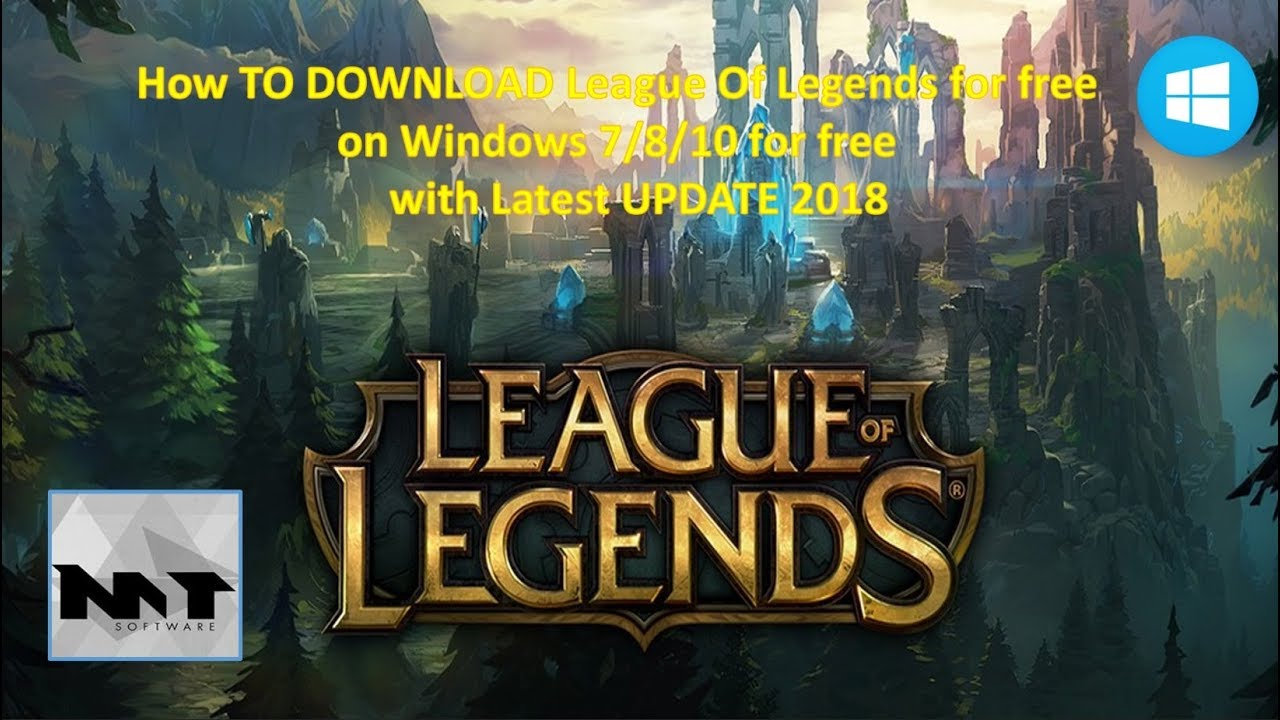 league of legends game free download for windows 10