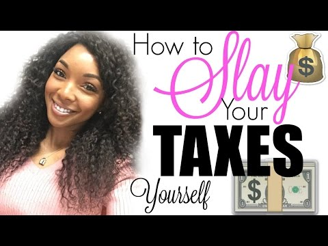 HOW TO DO YOUR TAXES YOURSELF !!! TIPS & HACKS | Brittany Daniel