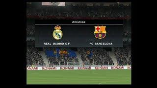 Real Madrid Vs Barcelona  2-0  PES 2010 PS2