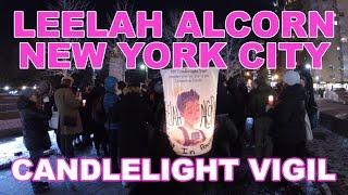 Leelah Alcorn NYC Candlelight Vigil | VLOG