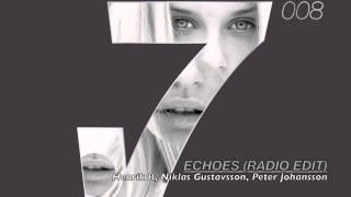 Henrik B, Niklas Gustavsson, Peter Johansson - Echoes (Radio Edit)