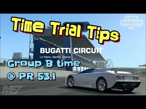 Bugatti Time Trial Tips EB110