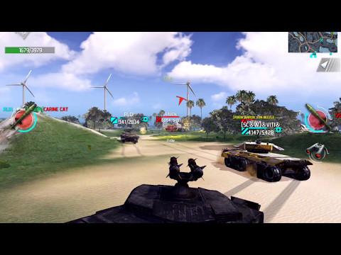 Infinite Tanks iOS Online Gameplay Infinite Rockets?