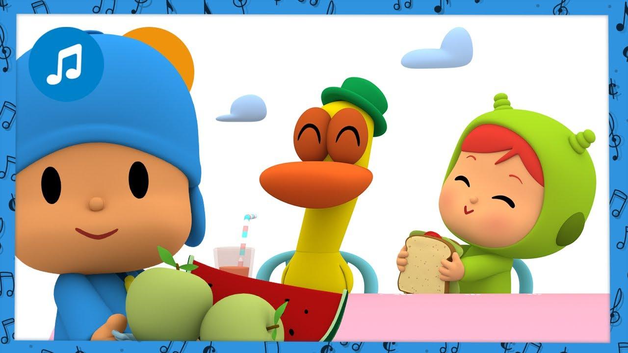 ☕️ O Lanche   Desenhos animados para Crianças - MÚSICA INFANTIL do POCOYO
