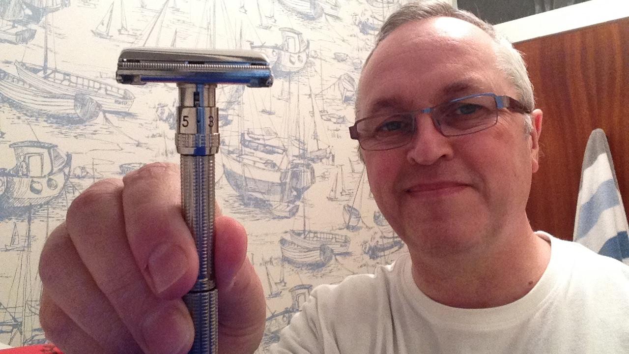 gillette j1 adjustable safety razor
