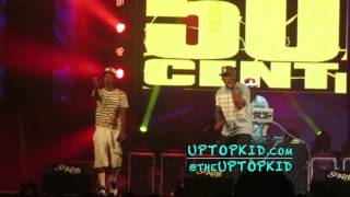 UpTopKid  Performs On Stage With 50 CENT at St. Kitts Music Festival 2016 | www.UPTOPKID.com