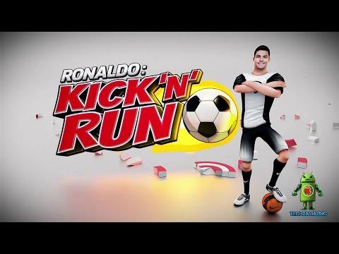Cristiano Ronaldo Kick N Run (iOS/Android) Gameplay HD
