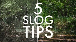 5 SLOG tips every Sony shooter should know! (SLOG2, SLOG3)