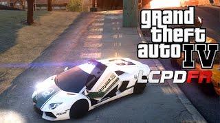 GTA IV LCPDFR 1.0D l Dubai Police Special-Lamborghini Aventador LP700-4