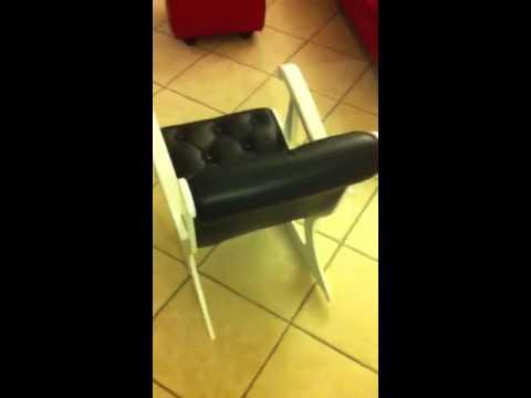 Sedia a dondolo youtube for Sedia a dondolo in pelle