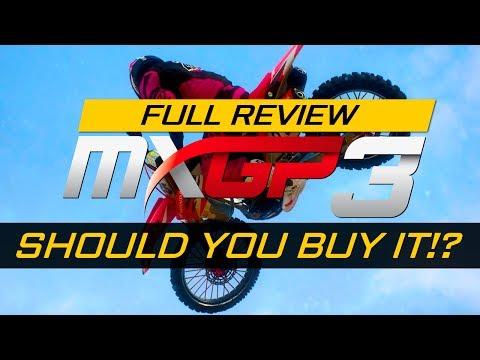 SHOULD YOU BUY MXGP3??? - MXGP 3 Full Review! (PS4)