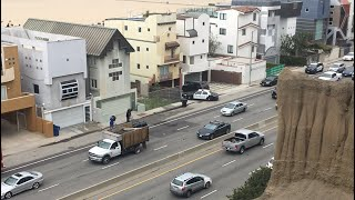Police Activity Santa Monica