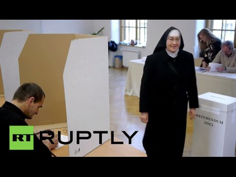 Slovakia: Citizens head to polls in anti-gay marriage referendum