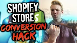 How To Make Your Shopify Store Convert Higher (Product Page HACK)