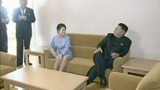 Kim Jong-un's wife returns to public eye - no comment