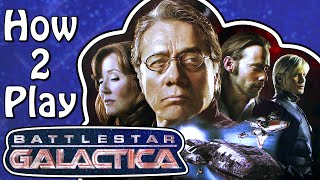 How to play Battlestar Galactica (Board Game Tutorial)
