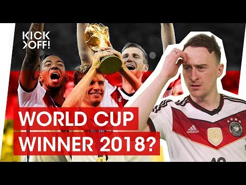 Why Germany will win the World Cup 2018 in Russia!