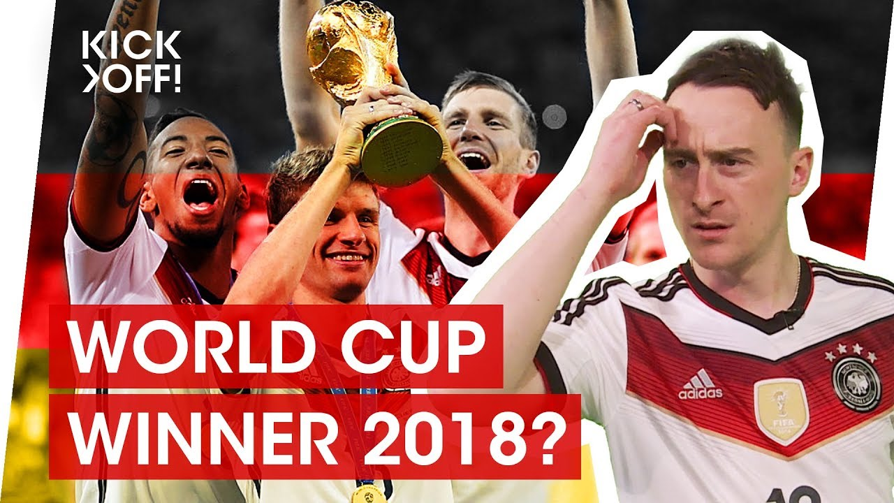 Why Germany Will Win The Fifa World Cup  In Russia
