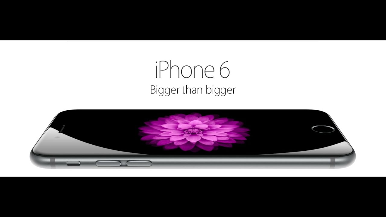 iphone 6 commercial official apple iphone 6 amp iphone 6 plus tv ad duo 11310