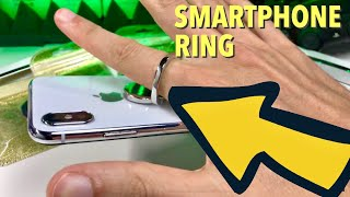 Ein Ring Sie alle zu schützen - Der Smartphone Ring mit mehr Funktionen als man denkt