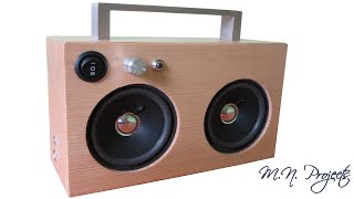 Repeat youtube video Making a Small Boombox