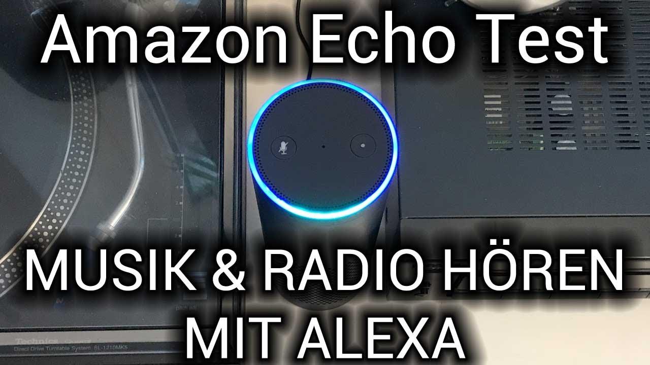 Amazon Echo Radio Hören