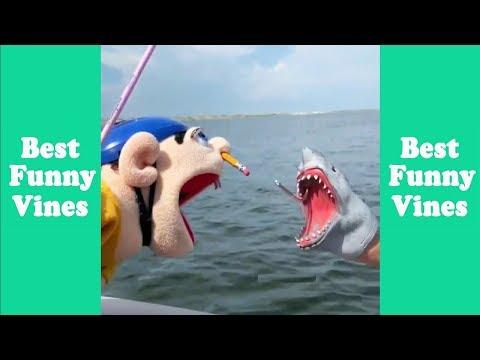 Funny Shark Puppet Compilation 2019   Shark Puppet Clips - Best Funny Vines