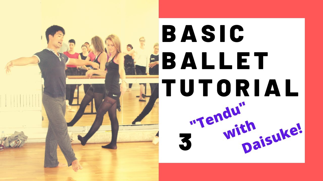 5 minutes Ballet Basic Workout | Ballet@Home |Ballet with Daisuke |