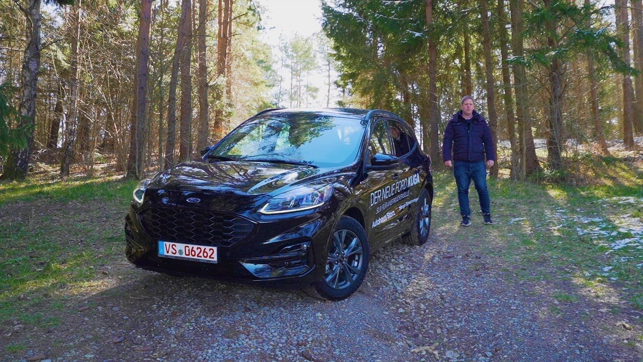 2020 Ford Kuga St Line X Review Test Fahrbericht Youtube