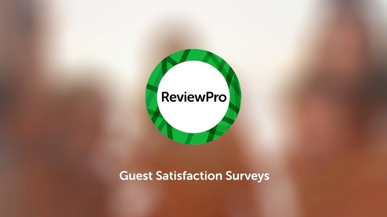 Guest Satisfaction Surveys - ReviewPro