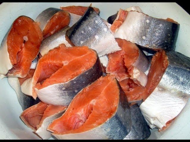 какую рыбу красную можно солить в домашних условиях