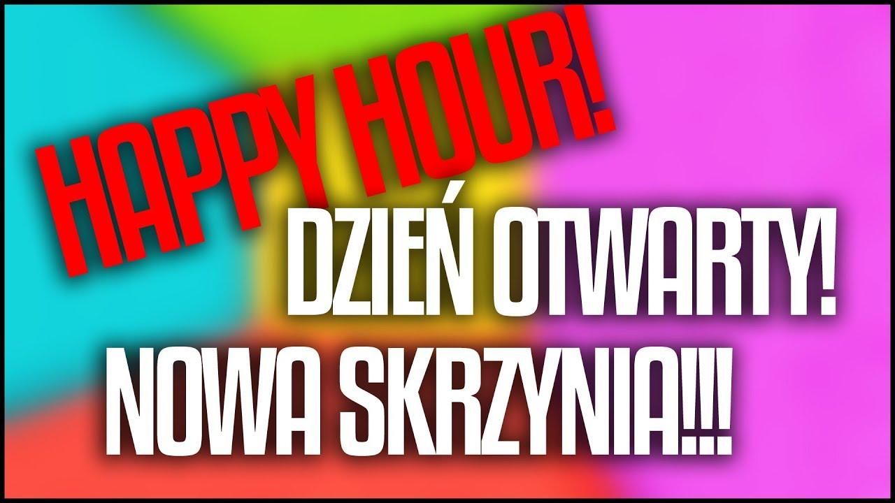 JUTRO (15.02) DZIEŃ OTWARTY! HAPPY HOUR! I NOWA EPICKA SKRZYNIA! BRODACI.NET!