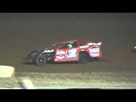 Ark La Tex Speedway modified heat race 2 9/26/15