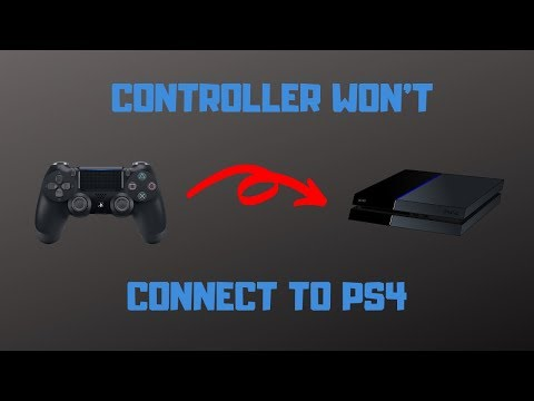 PS4 Controller Won't Connect - How to Fix