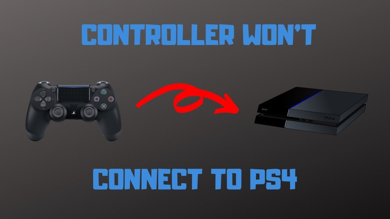 Ps4 Controller Won T Connect How To Fix Youtube