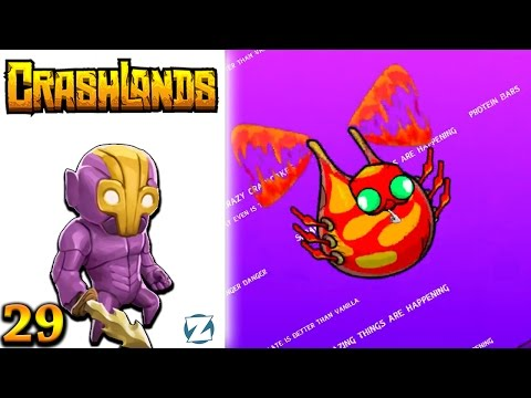 Crashlands Gameplay - Ep 29 - Hivelighter and Dbot (Let's Play)