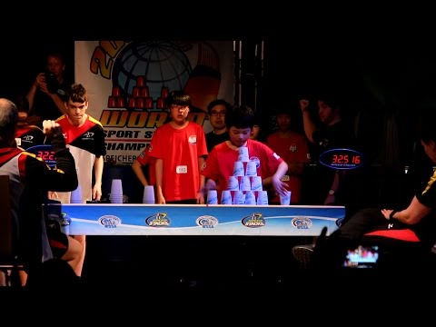 Sport Stacking: International Challenge Final Rounds WSSC 2016 Germany