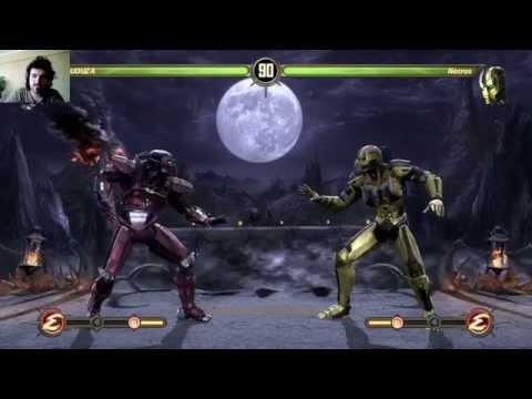 MK9. Necros vs Abuduza. Уже с фаталити.