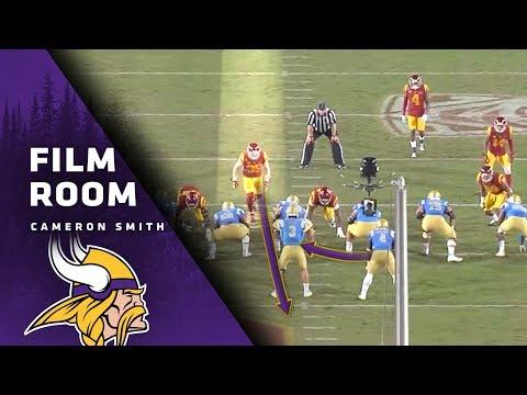 Film Room: Strength And Smarts Help Cameron Smith Excel | Minnesota Vikings