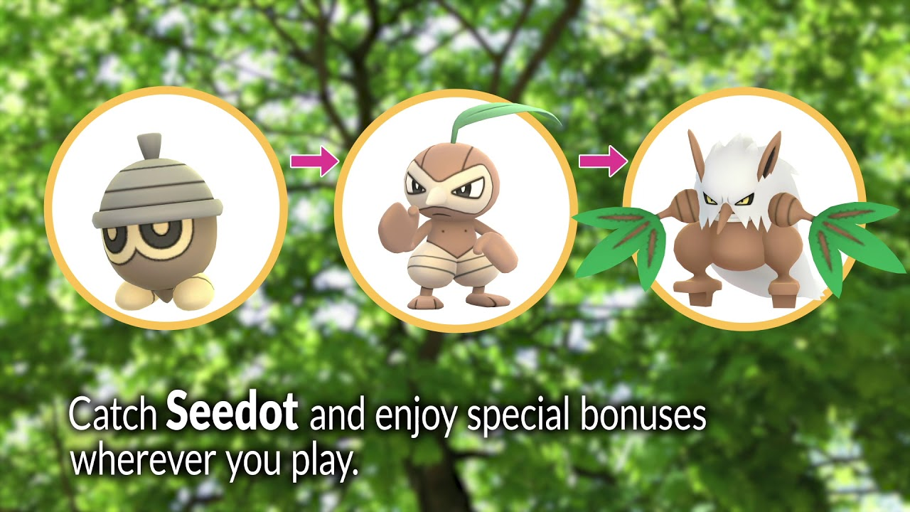 May Pokémon GO Community Day, Featuring Seedot